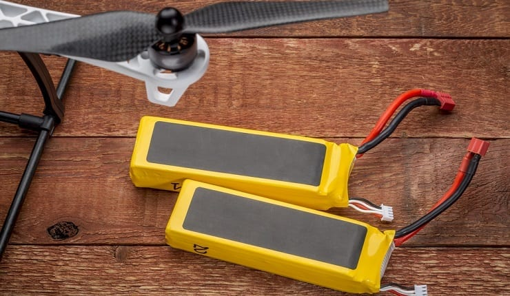 Two Batteries For Drone